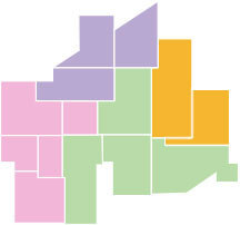 東海地方と周辺のデートスポットマップ