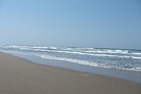 千里浜なぎさドライブウェイ海