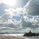 夏に行きたい水晶浜