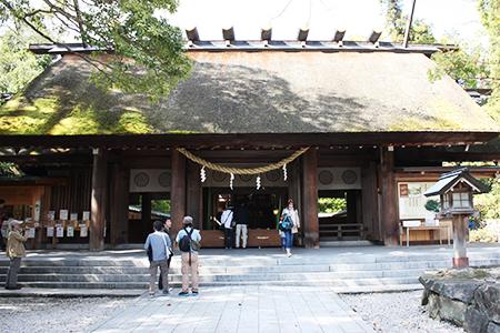 籠神社本堂