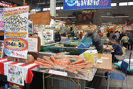 舞鶴港とれとれセンター さかな市場