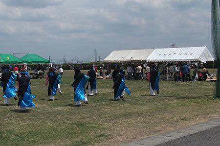 赤坂スポーツ公園の藤まつり