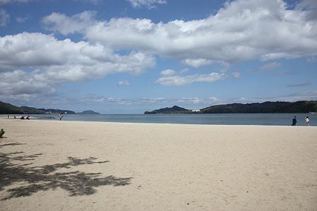 天野橋立海水浴場
