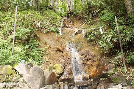 戸隠神社中社滝