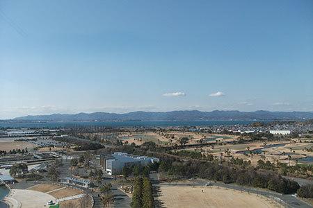 浜名湖ガーデンパークからの眺め