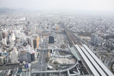 岐阜シティータワー43からの眺め