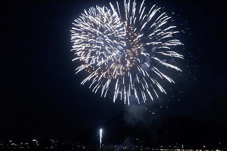 長良川全国花火大会開始