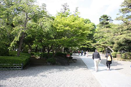 市民の憩いの場岐阜公園
