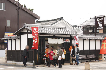 夢京橋キャッスルロード飲食店