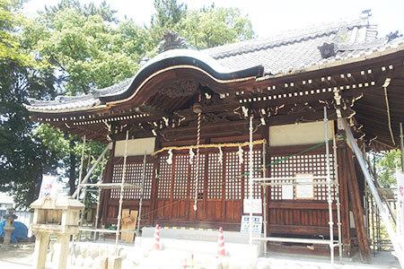 本荘神社拝殿