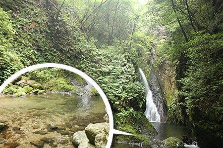 釜ヶ滝一の滝