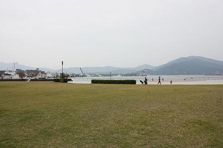 金ヶ崎緑地