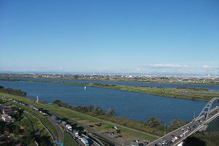 木曽三川公園展望台