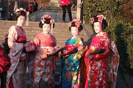 清水寺の舞妓さん
