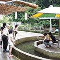 夏に行きたい釜ヶ滝ます園