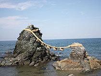 二見興玉神社と夫婦岩