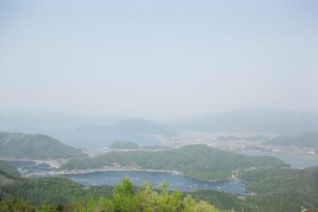 三方五湖レインボーラインからの眺め