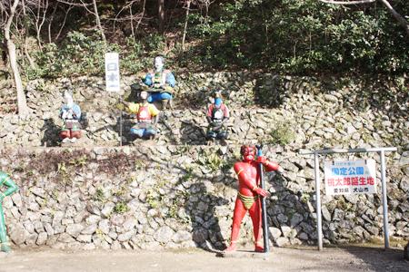 桃太郎神社銅像