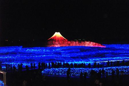 なばなの里富士山