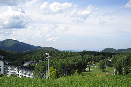 日本アルプスの大自然
