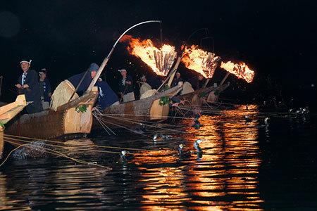 長良川の鵜飼