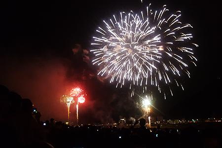 長良川の花火大会