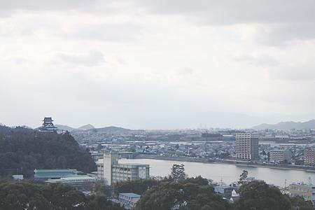 犬山成田山からの眺め