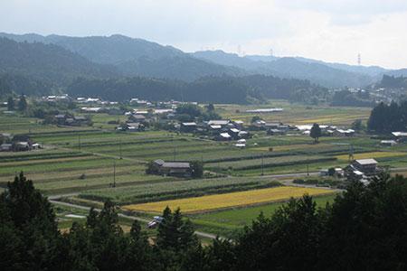 農村景観日本一展望台