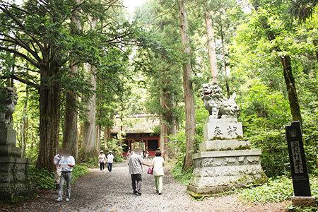 パワースポット戸隠神社