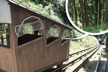 大滝鍾乳洞ケーブルカー