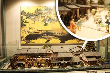 大津市歴史博物館模型