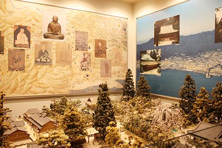 大津市歴史博物館展示