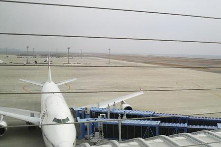 中部国際空港セントレア飛行機