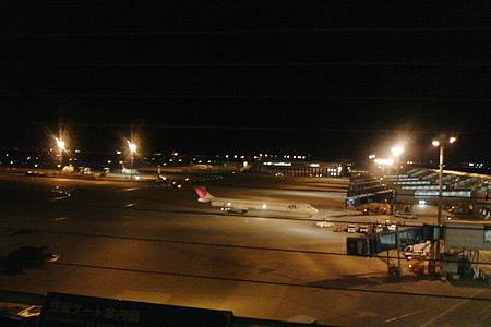 中部国際空港セントレア夜の景色