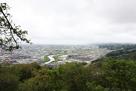 二上山からの眺め