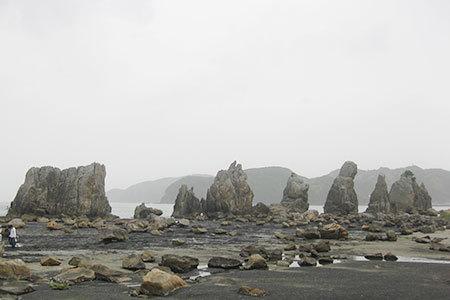 和歌山県橋杭岩
