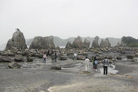 和歌山県景勝地橋杭岩
