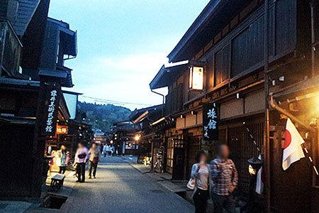 飛騨高山の古い町並み