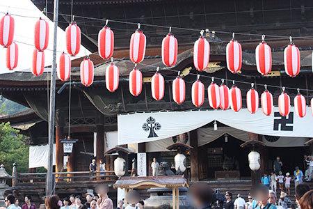 信州善光寺の夏祭り